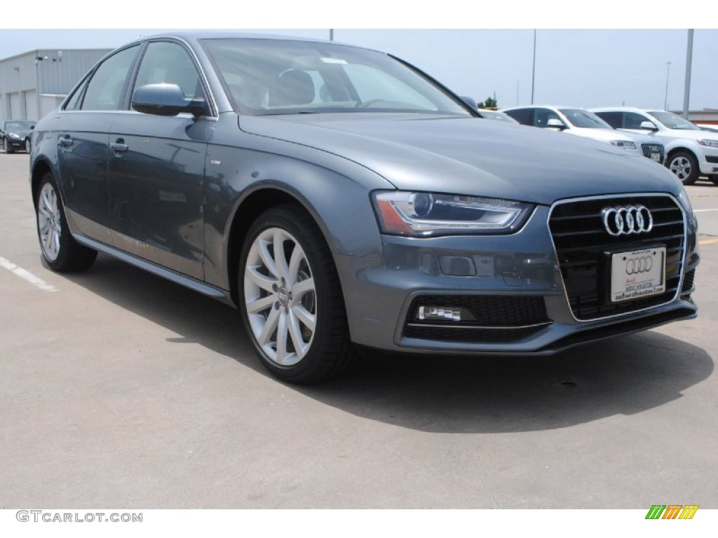 2014 monsoon grey metallic audi a4 2 0t sedan 83990959 car color galleries. Black Bedroom Furniture Sets. Home Design Ideas