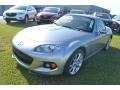 Liquid Silver Metallic 2013 Mazda MX-5 Miata Gallery