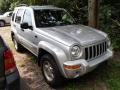 Bright Silver Metallic 2002 Jeep Liberty Limited 4x4