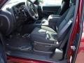 2013 Deep Ruby Metallic Chevrolet Silverado 1500 LT Extended Cab 4x4  photo #2