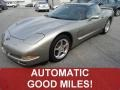 Light Pewter Metallic 1999 Chevrolet Corvette Coupe