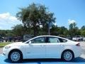 White Platinum Metallic Tri-coat 2013 Ford Fusion Gallery