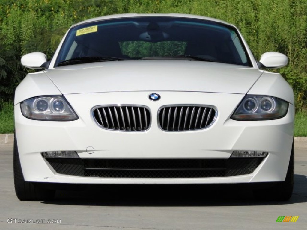 Alpine White 2007 Bmw Z4 3 0si Coupe Exterior Photo 84108215 Gtcarlot Com