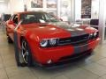 2013 Redline 3-Coat Pearl Dodge Challenger SRT8 392  photo #1
