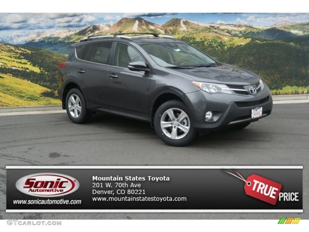 2013 magnetic gray metallic toyota rav4 xle awd 84092776. Black Bedroom Furniture Sets. Home Design Ideas
