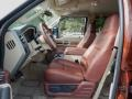 2008 Ford F250 Super Duty Camel/Chaparral Leather Interior Interior Photo