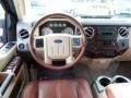 2008 Ford F250 Super Duty Camel/Chaparral Leather Interior Dashboard Photo