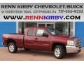 2013 Deep Ruby Metallic Chevrolet Silverado 1500 LT Extended Cab 4x4  photo #1