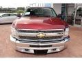 2013 Deep Ruby Metallic Chevrolet Silverado 1500 LT Extended Cab 4x4  photo #15