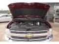 2013 Deep Ruby Metallic Chevrolet Silverado 1500 LT Extended Cab 4x4  photo #16