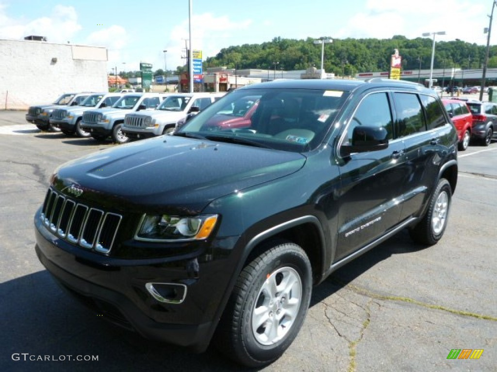 7be87a165a 2014 Black Forest Green Pearl Jeep Grand Cherokee Laredo 4x4  84135865