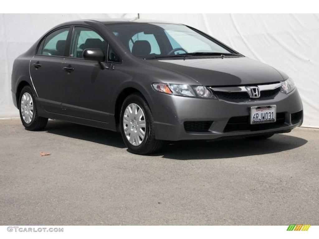 2011 polished metal metallic honda civic dx vp sedan for Honda civic vp