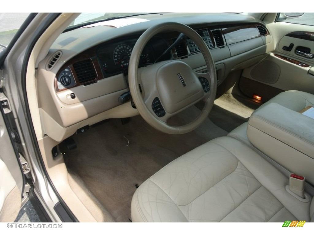 2000 lincoln town car signature interior color photos
