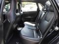 2011 Subaru Impreza STI Carbon Black Leather Interior Rear Seat Photo