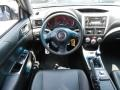 2011 Subaru Impreza STI Carbon Black Leather Interior Dashboard Photo