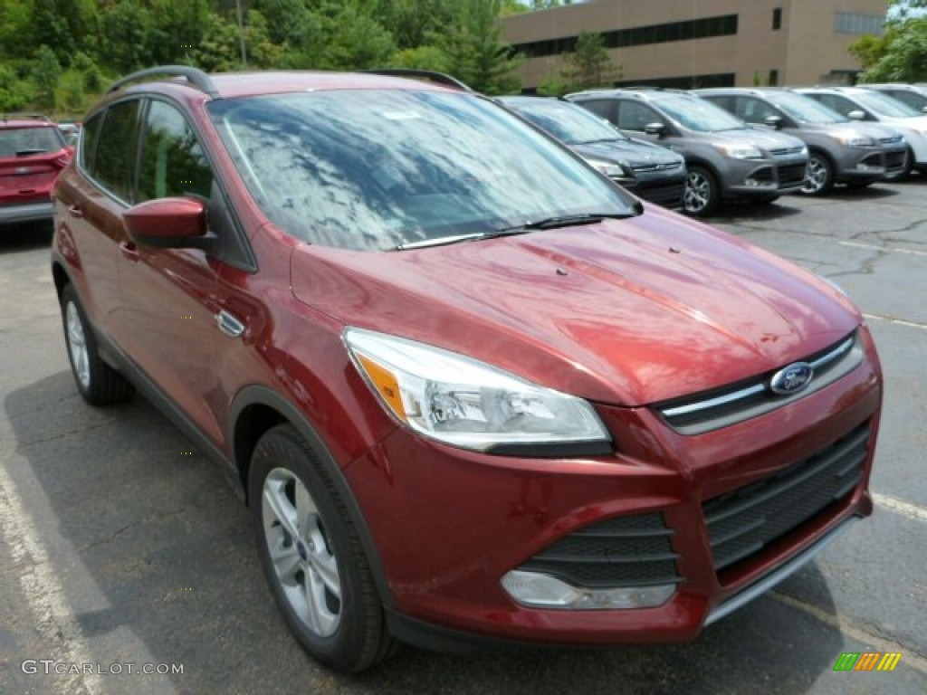 2014 Escape SE 1.6L EcoBoost 4WD - Sunset / Charcoal Black photo #1