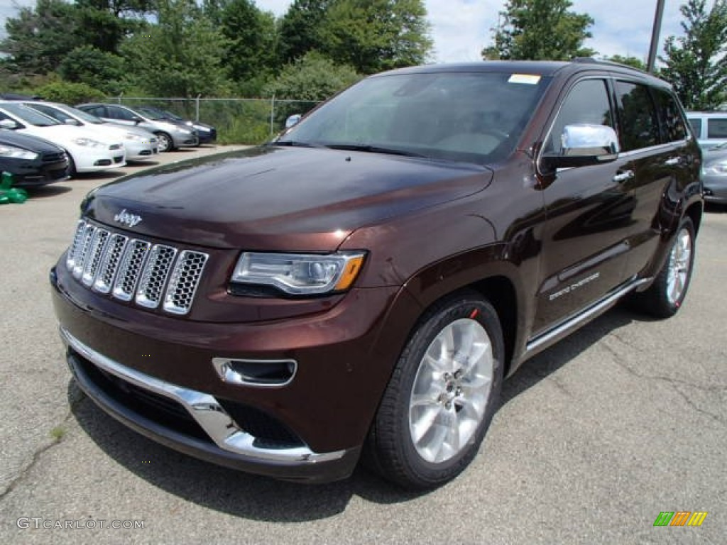 Deep Auburn Pearl 2014 Jeep Grand Cherokee Summit 4x4 Exterior Photo 84167244