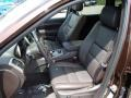 Summit Grand Canyon Jeep Brown Natura Leather Interior Photo for 2014 Jeep Grand Cherokee #84167439