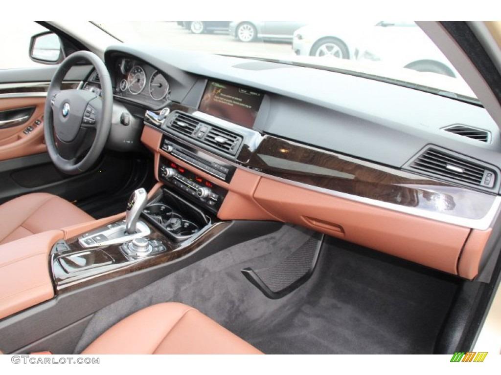 2013 Bmw 5 Series 528i Sedan Cinnamon Brown Dashboard
