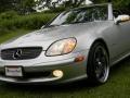 2001 Brilliant Silver Metallic Mercedes-Benz SLK 230 Kompressor Roadster  photo #38