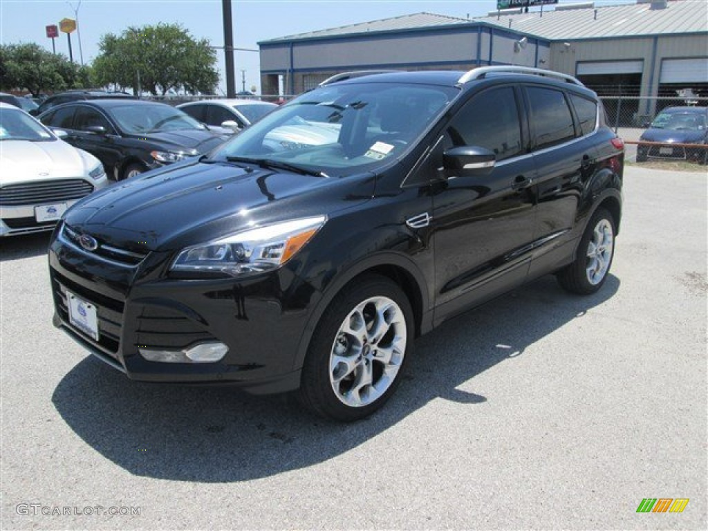 2014 tuxedo black ford escape titanium 2 0l ecoboost 84193853 car color galleries. Black Bedroom Furniture Sets. Home Design Ideas