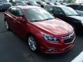 Crystal Red Metallic Tintcoat 2011 Chevrolet Cruze LTZ/RS