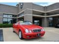 Magma Red 2001 Mercedes-Benz CLK 320 Cabriolet