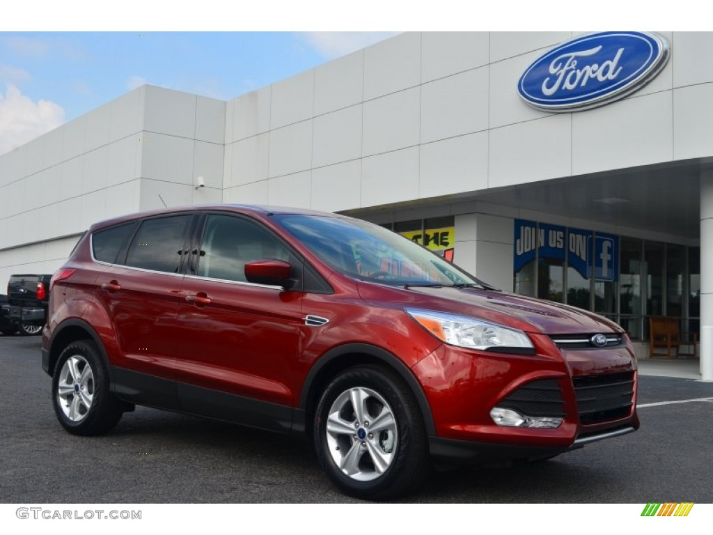 2014 Escape SE 1.6L EcoBoost - Sunset / Charcoal Black photo #1