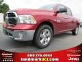 Deep Cherry Red Pearl - 1500 Big Horn Crew Cab Photo No. 1