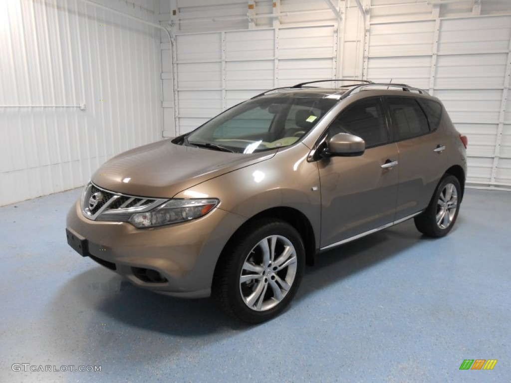 2011 Murano LE AWD - Tinted Bronze / Beige photo #2