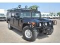 Black 2003 Hummer H1 Wagon