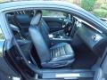 2009 Ford Mustang Dark Charcoal Interior Front Seat Photo