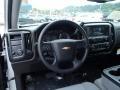 Silver Ice Metallic - Silverado 1500 WT Crew Cab 4x4 Photo No. 12