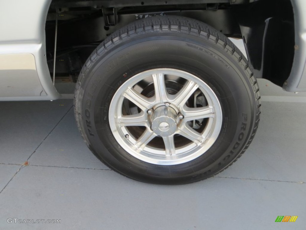 2006 Ram 1500 Laramie Quad Cab - Bright Silver Metallic / Medium Slate Gray photo #12