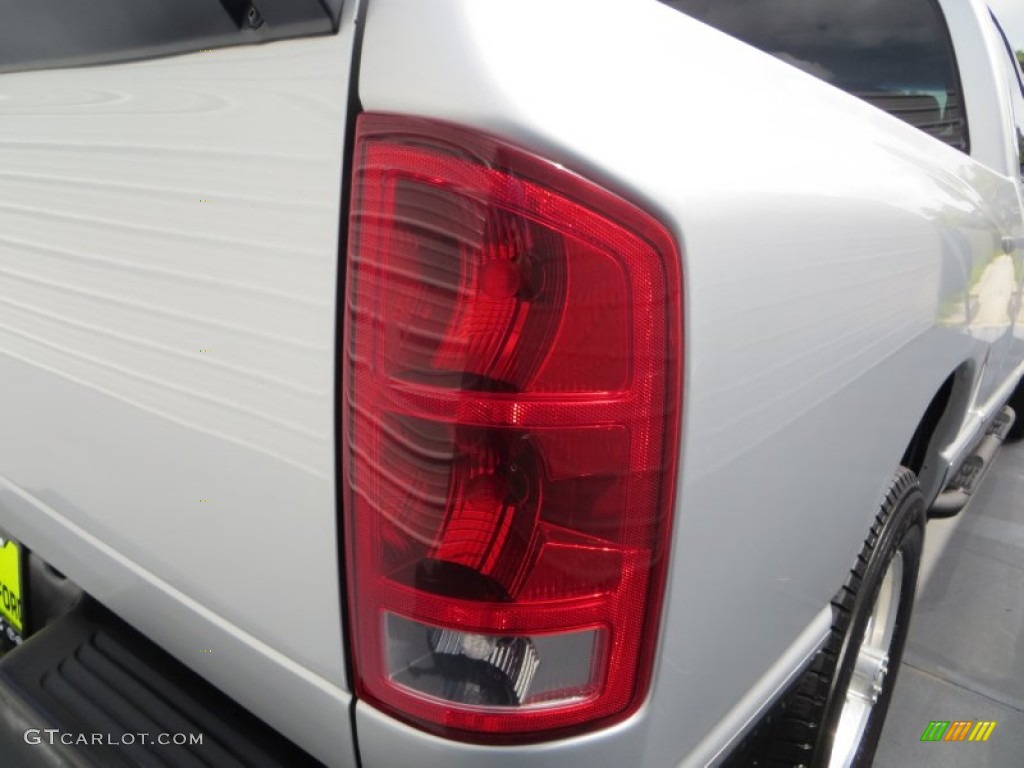 2006 Ram 1500 Laramie Quad Cab - Bright Silver Metallic / Medium Slate Gray photo #16