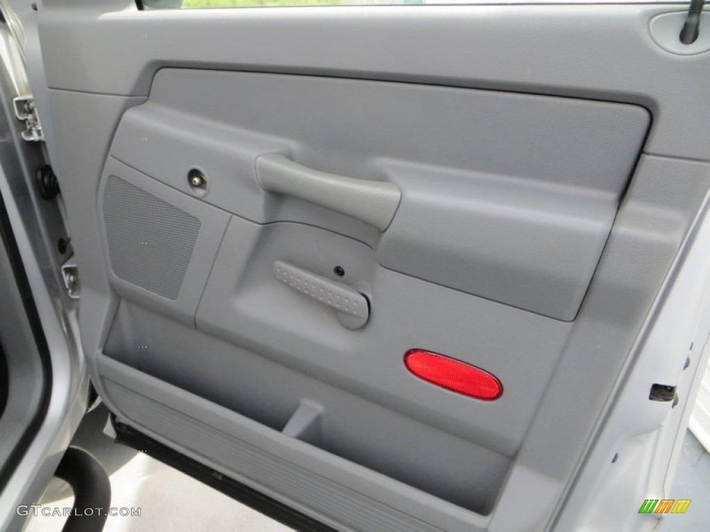 2006 Ram 1500 Laramie Quad Cab - Bright Silver Metallic / Medium Slate Gray photo #21