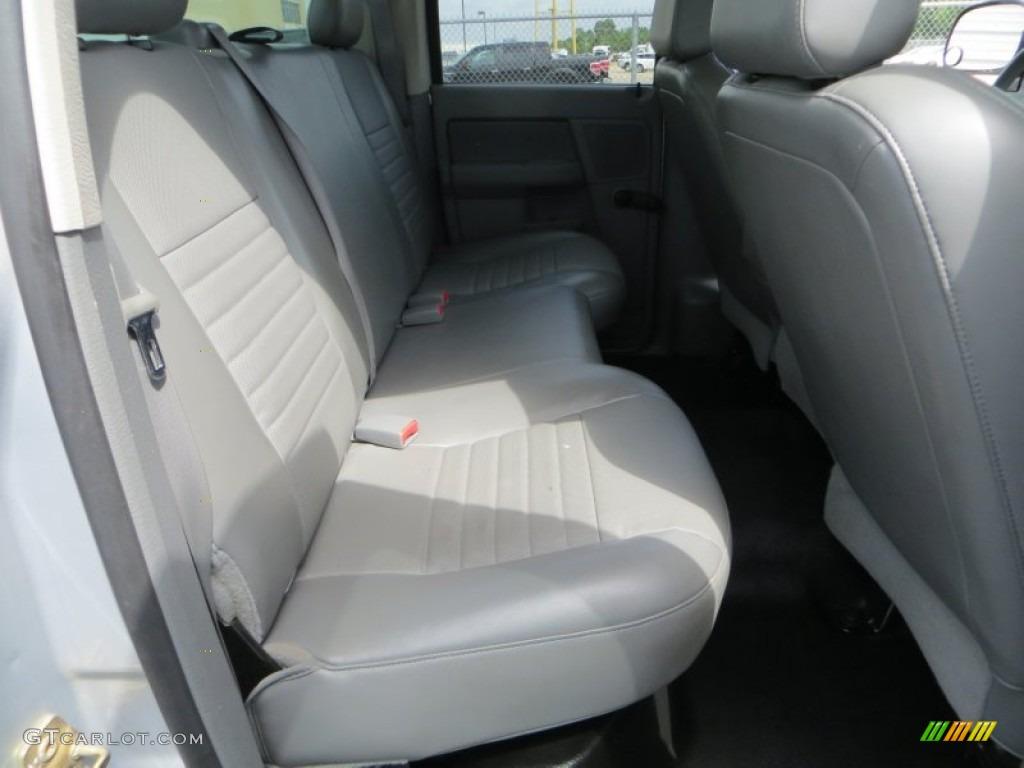 2006 Ram 1500 Laramie Quad Cab - Bright Silver Metallic / Medium Slate Gray photo #25