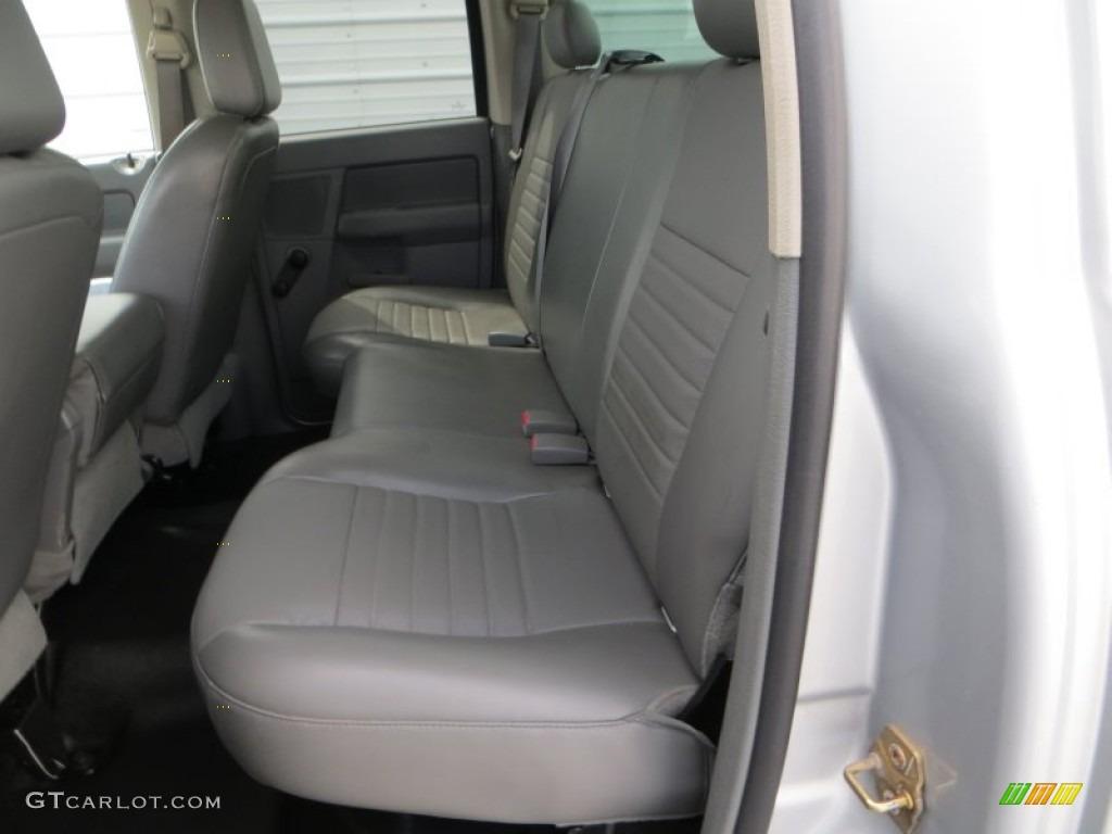 2006 Ram 1500 Laramie Quad Cab - Bright Silver Metallic / Medium Slate Gray photo #27
