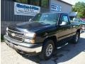 Black 2007 Chevrolet Silverado 1500 Classic Work Truck Regular Cab 4x4
