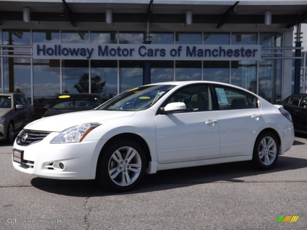 2011 Nissan Altima 2.5s Specs >> 2011 Winter Frost White Nissan Altima 3.5 SR #84256899 | GTCarLot.com - Car Color Galleries