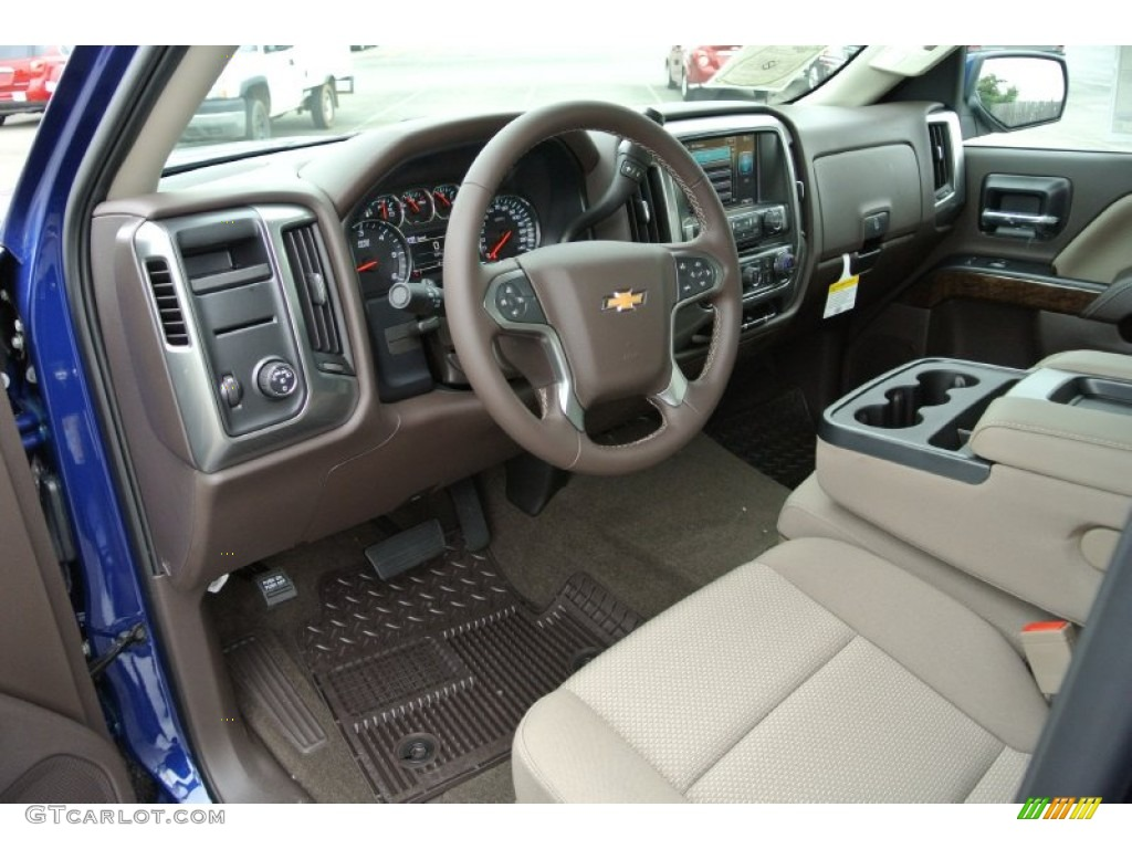 Cocoa Dune Interior 2014 Chevrolet Silverado 1500 Lt Crew Cab Photo