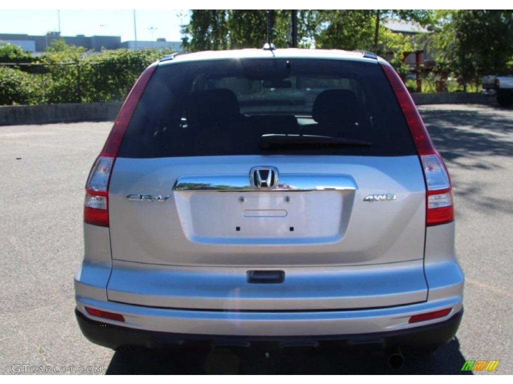 2010 CR-V EX-L AWD - Alabaster Silver Metallic / Black photo #7