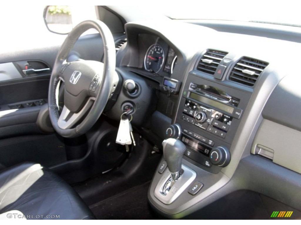 2010 CR-V EX-L AWD - Alabaster Silver Metallic / Black photo #12