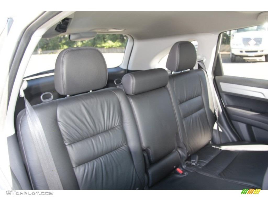 2010 CR-V EX-L AWD - Alabaster Silver Metallic / Black photo #18