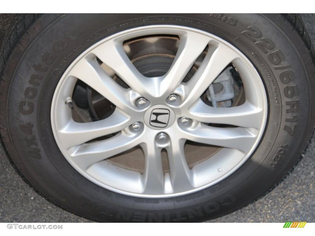 2010 CR-V EX-L AWD - Alabaster Silver Metallic / Black photo #21