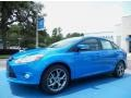Blue Candy 2014 Ford Focus Gallery