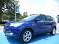 2014 Deep Impact Blue Ford Escape SE 2.0L EcoBoost  photo #1