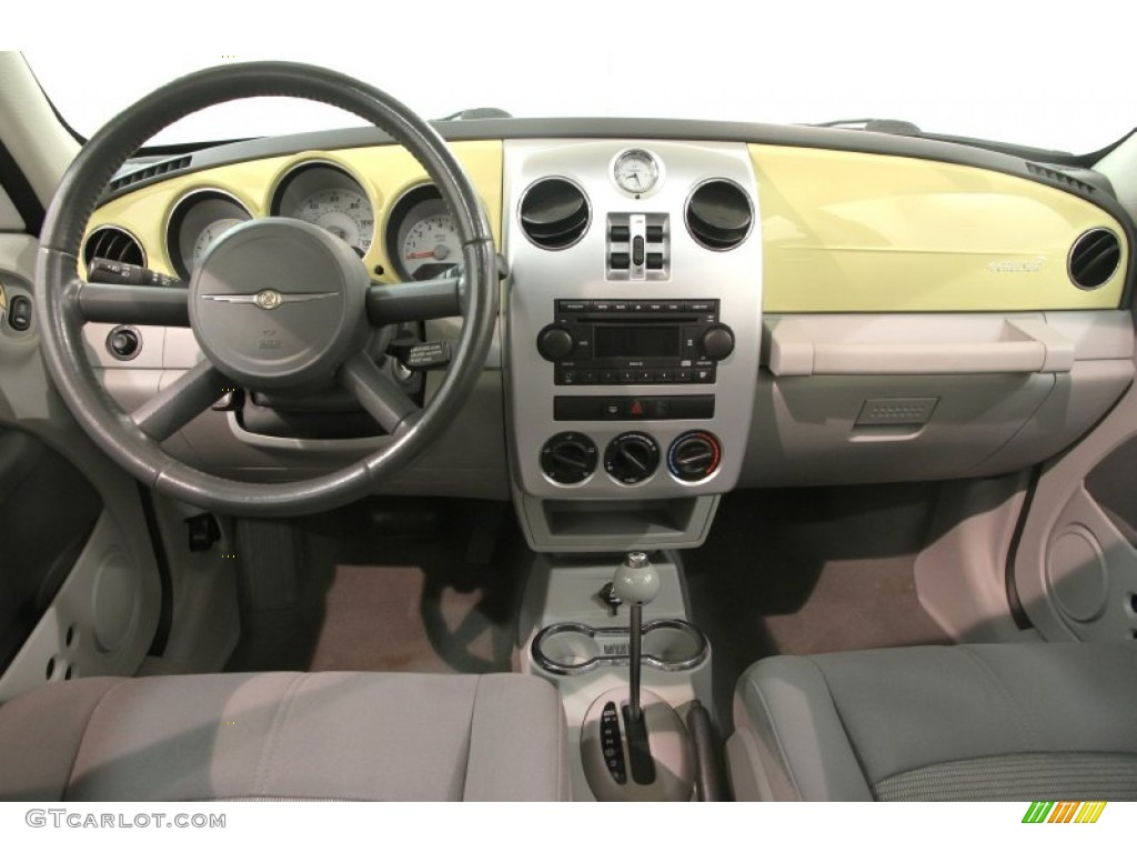 2007 pastel yellow chrysler pt cruiser limited 84312626. Black Bedroom Furniture Sets. Home Design Ideas