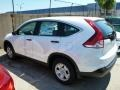 2013 White Diamond Pearl Honda CR-V LX AWD  photo #6