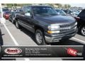 1999 Medium Charcoal Gray Metallic Chevrolet Silverado 1500 LT Extended Cab 4x4 #84312149